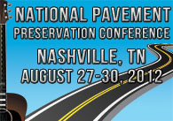 National Pavement Preservation Conference 2012